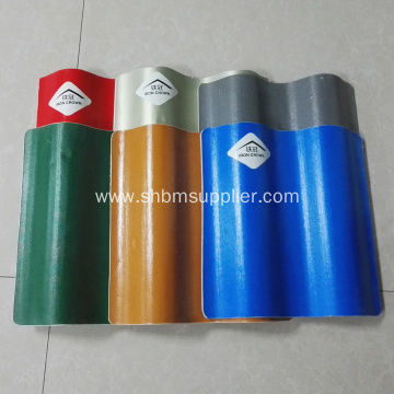 Heat Resistant UV Blocking MgO Roof Tile